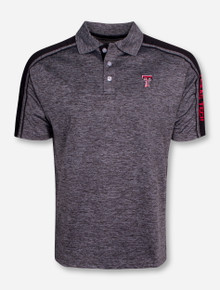"Chiliwear Texas Tech ""Birdie"" Heather Grey Polo"