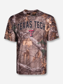 "Arena Texas Tech ""Brow Tine"" RealTree Camo T-Shirt"