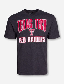 "Arena Texas Tech ""State Your Name"" Heather Charcoal T-Shirt"