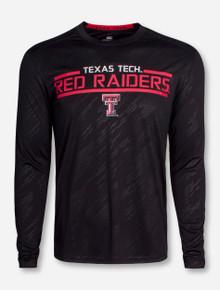 "Arena Texas Tech ""Sleet"" Black Long Sleeve Shirt"
