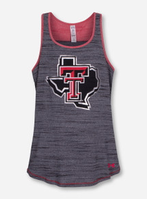 "Under Armour Texas Tech ""Space"" YOUTH GIRL'S Tank"