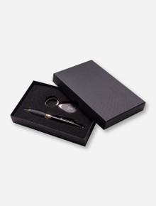Texas Tech Ballpoint Pen and Teardrop Keychain Gift Set