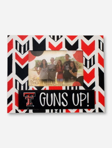 Glory Haus Texas Tech Arrow Red & Black Frame