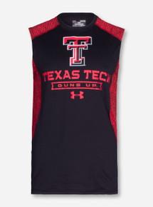 "Under Armour Texas Tech ""Apex"" Sleeveless Shirt"