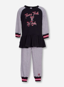 "Arena Texas Tech ""Team Spirit"" TODDLER Long Sleeve and Pants Set"