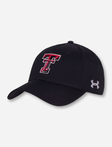 "Under Armour Texas Tech ""Goal Line"" Stretch Fit Cap"
