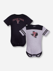 "Garb Texas Tech ""Tommy"" Set of 2 INFANT One Piece"