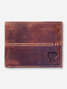 Texas Tech Burr Canyon Zippered Wallet