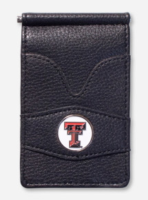 "Texas Tech ""Player's"" Cash Clip Card Wallet"