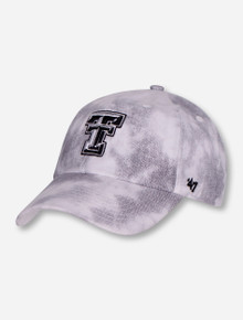 "47 Brand Texas Tech ""Spray Paint"" Women's White Adjustable Cap"