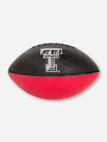 Double T on Mini Black & Red Football