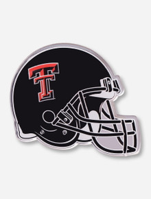 Texas Tech Black Helmet Metallic Acrylic Emblem