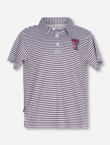 "Garb Texas Tech ""Carson"" TODDLER Striped Polo"