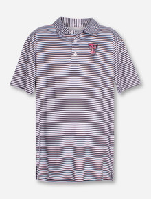 "Garb Texas Tech ""Carson"" YOUTH Striped Polo"