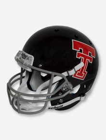 Schutt Texas Tech '64 - '69 Throwback Black & Grey Replica Helmet