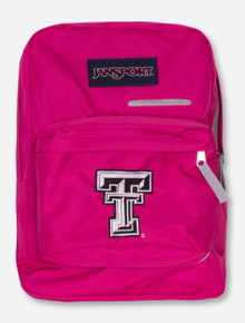 Jansport Texas Tech Digibreak Bright Fuchsia Back Pack