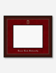 Silver Embossed Cherry Bead Red Suede Diploma Frame T3 (Drop Ship: 6-8 weeks)