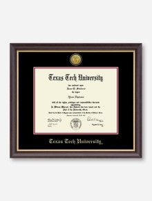 Gold Engraved Medallion Hampshire Diploma Frame C3