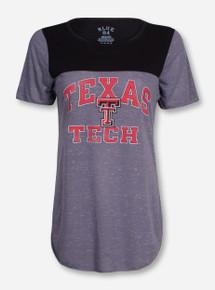"Blue 84 Texas Tech ""Establish"" Black and Grey Short Sleeve Shirt"