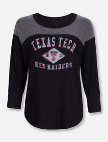 "Blue 84 Texas Tech ""Best Friend"" 3/4 Sleeve Shirt"