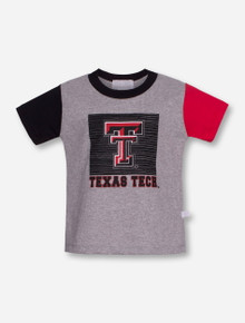 "Third Street Texas Tech ""Inside the Box"" TODDLER Grey T-Shirt"