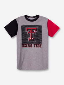 "Third Street Texas Tech ""Inside the Box"" YOUTH Grey T-Shirt"