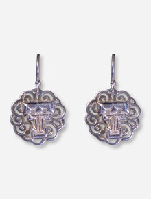 DaynaU Texas Tech Double T Filigree Dangle Earrings