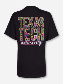 Texas Tech Karma on Black T-Shirt
