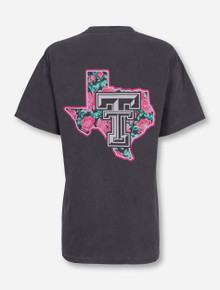 Texas Tech Floral Pride T-shirt