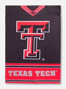 Texas Tech Double Sided Suede Flag