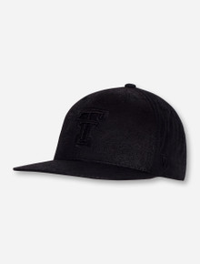"Top of the World Texas Tech ""Phasely"" Black Snapback"