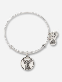Alex & Ani Texas Tech Rafaelian Silver Bangle