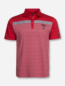 "Columbia Texas Tech ""Bunker"" Red Polo"