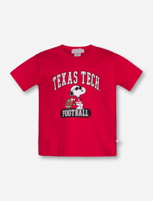 Texas Tech Snoopy TODDLER Red T-Shirt