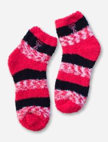 Texas Tech Double T Fuzzy Socks