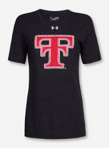 Under Armour Texas Tech Women's Throwback Tri-Blend T-Shirt