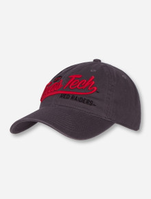 "Legacy Texas Tech ""Plotter"" Grey Adjustable Cap"