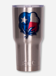 Texas Cotton Farmers Tribute with Double T RTIC 30 oz Tumbler