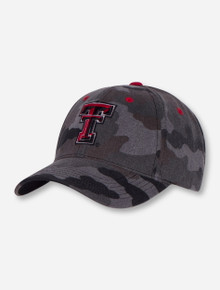 "Texas Tech ""Warrior"" Grey Camo Adjustable Cap"