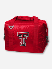 Logo Texas Tech Trackside Red Cooler