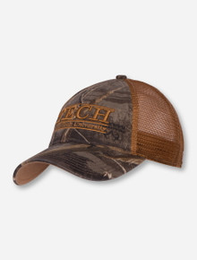 The Game Texas Tech Bar Camo Mesh Snapback Cap