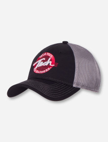 The Game Texas Tech Scripted Circle on Mesh Snapback Cap