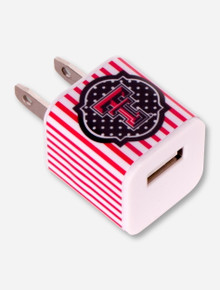 Texas Tech Double T Striped Wall Charger