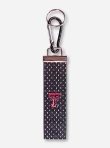 Texas Tech Jersey Black Key Fob