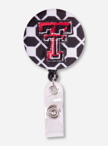 Texas Tech Geometric Badge Reel