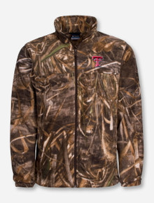"Columbia Texas Tech ""Flanker"" with RealTree Camo Full Zip"