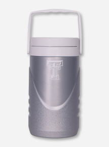 Coleman Texas Tech Double T on Silver Water Jug