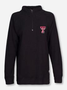 """Pressbox Texas Tech """"Comfy Terry"""" Quarter Zip Pullover"""
