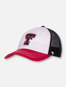 "47 Brand Texas Tech ""McKinley"" Tri-Color Mesh Stretch Fit Cap"