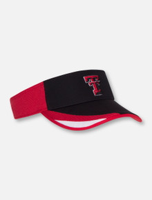 "47 Brand Texas Tech ""Drawback"" Black Visor"